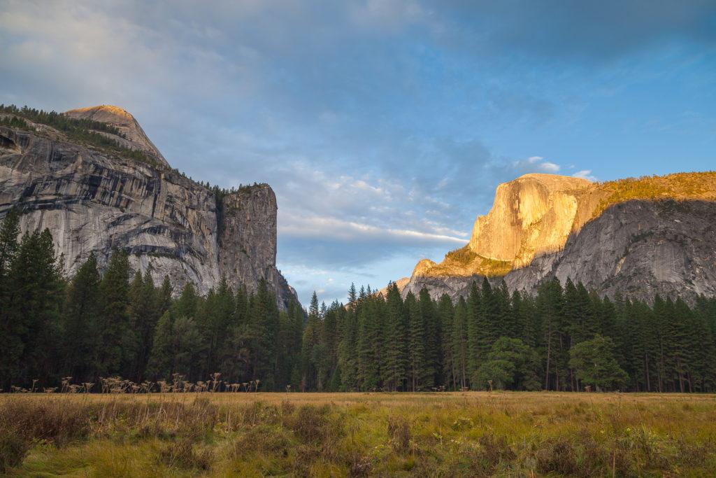 Camping in Yosemite National Park in California September 2011